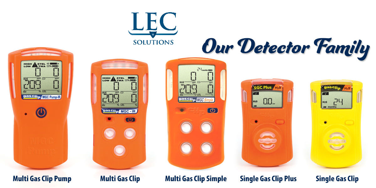 Products LEC Solutions Gas Detections Rental Services