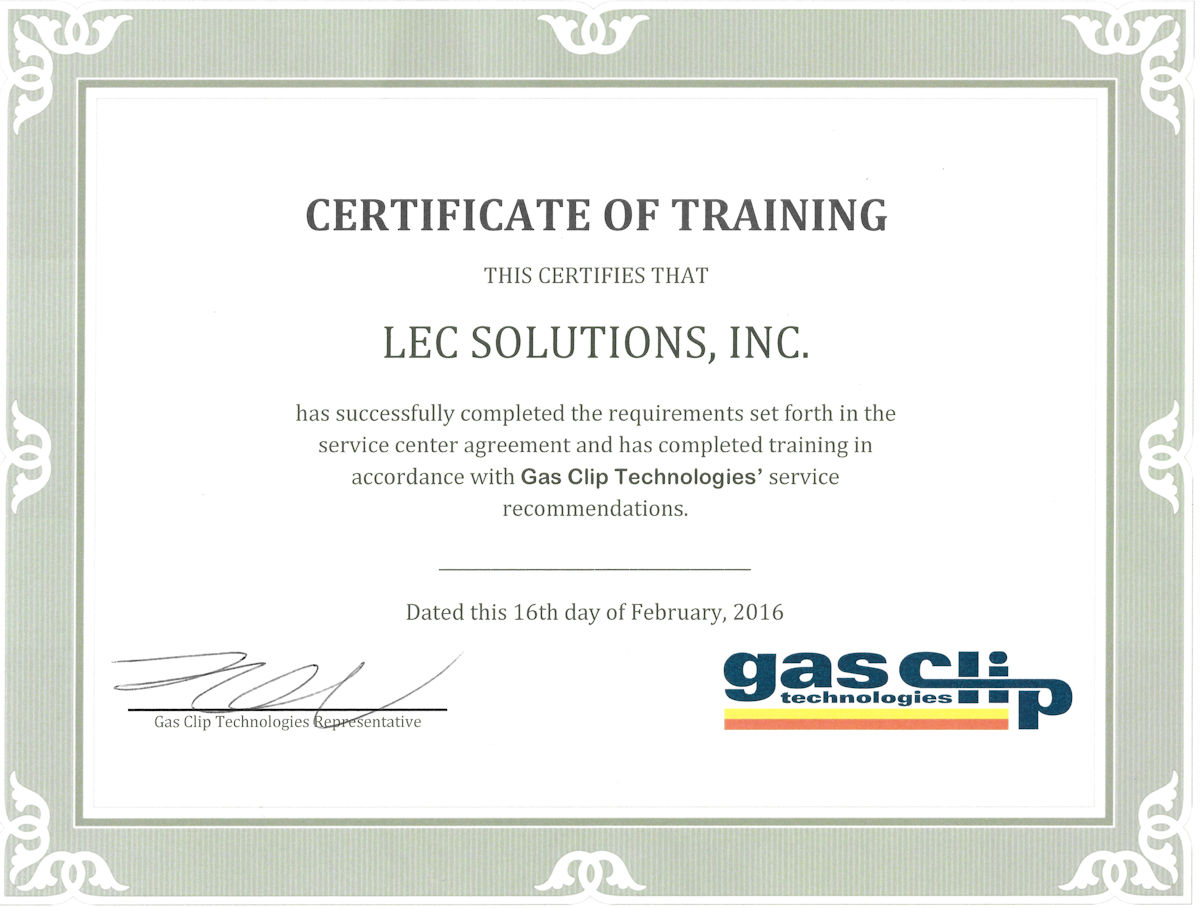 LEC Solutions, Inc is an Authorized Service Center.